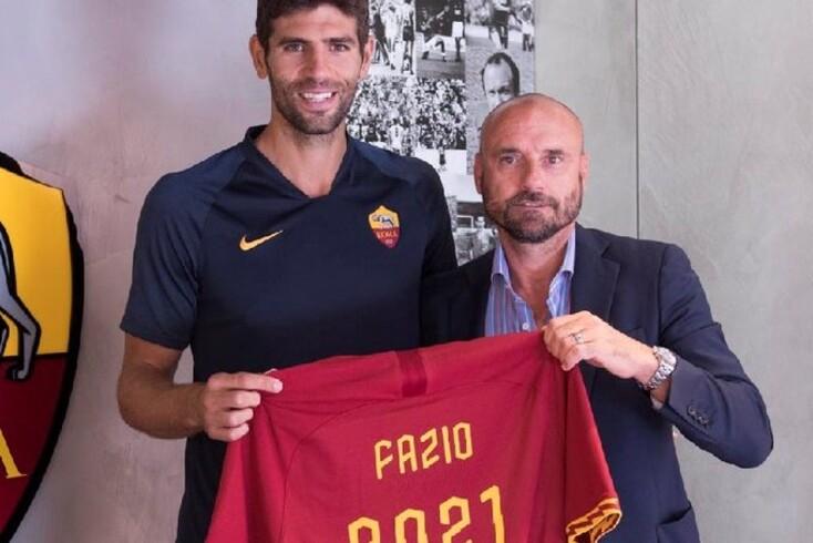 Federico Fazio renova com a Roma de Paulo Fonseca