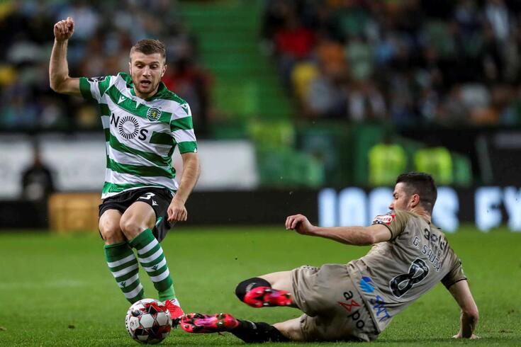 Ristovski, lateral macedónio do Sporting