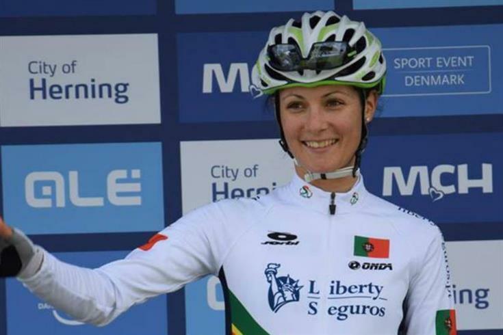 Daniel Reis, campeã portuguesa de ciclismo