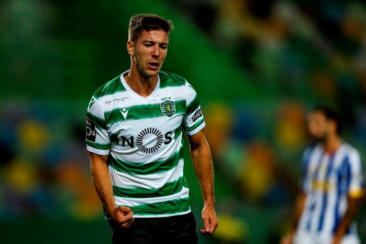 Último jogo de Luciano Vietto pelo Sporting foi contra o FC Porto, ele que empatou o jogo 2-2