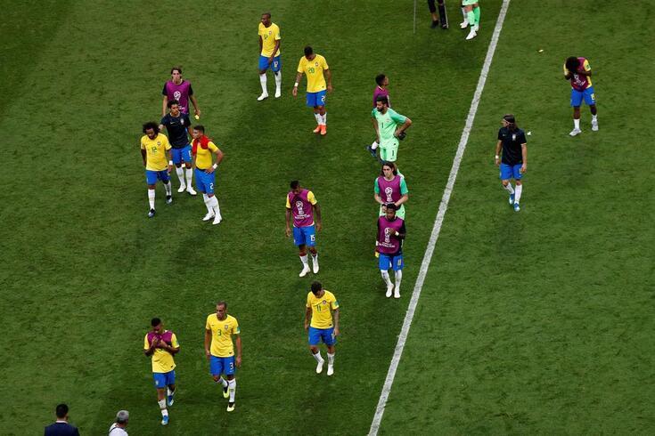 """Brasil-Bélgica deixou marcas: """"Acordei de noite a achar que tínhamos empatado"""""""