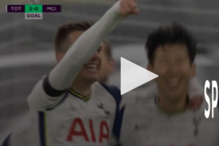Lo Celso fez o 2-0 do Tottenham frente ao Manchester City