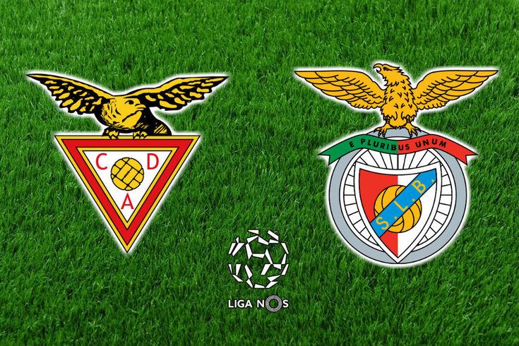 DIRETO | Aves-Benfica