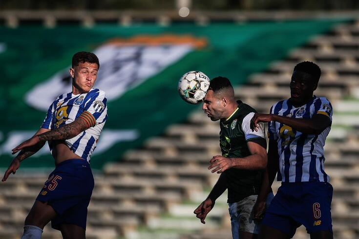 FC Porto bateu o Fabril por 2-0 na Taça de Portugal