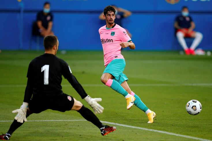 Trincão deixou notas francamente positivas na pré-época do Barça