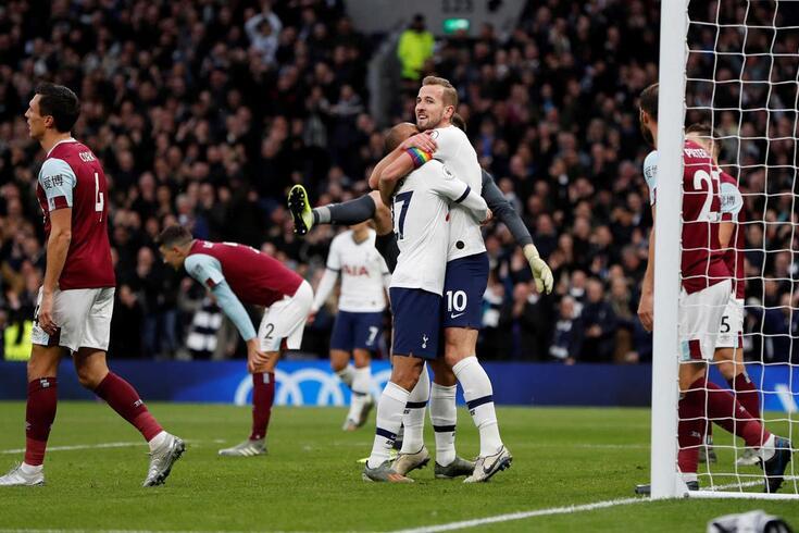 Kane já fez o gosto ao pé no Tottenham-Burnley.