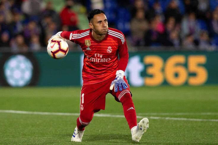 Keylor Navas esteve cinco épocas no Real Madrid