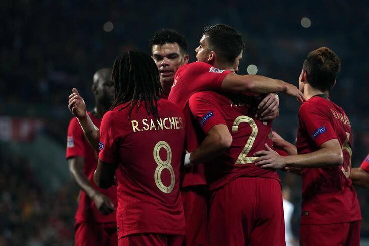Guimarães, 20/11/2018 - A Seleção AA de Portugal recebeu esta noite a Seleção AA da Polónia no Estádio