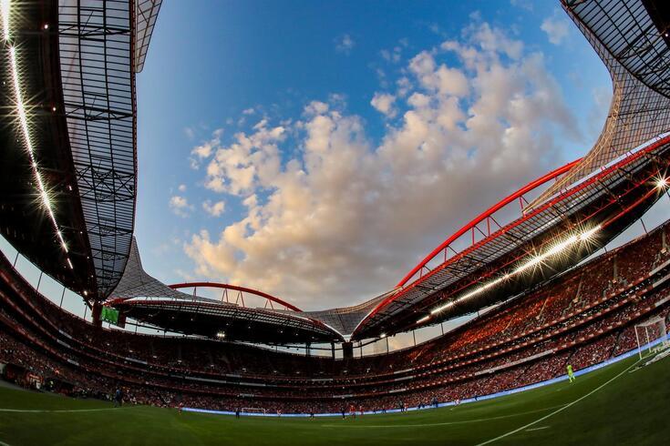 Estádio da Luz palco da segunda ronda da Liga Europa