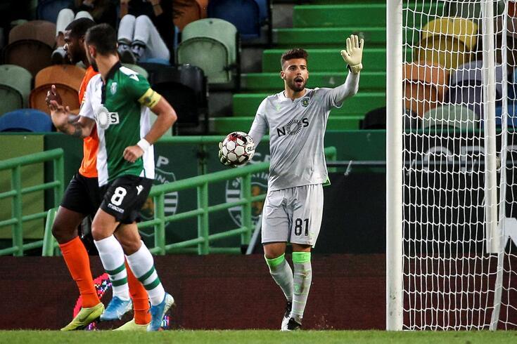 Baliza do Sporting tem um novo número um: conheça todos os detalhes