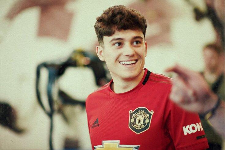 Daniel James, 21 anos, é reforço do Manchester United