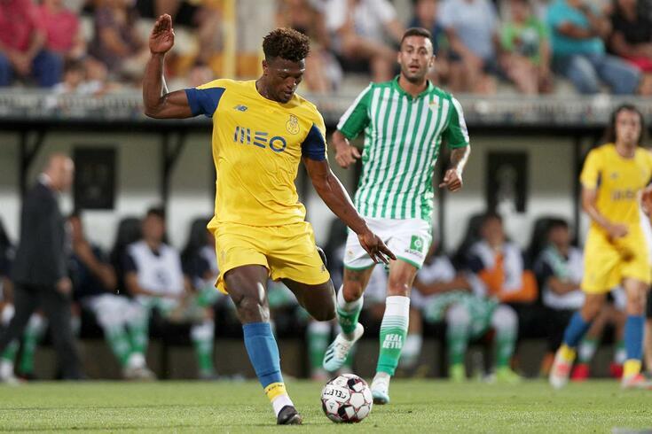 Zé Luís marcou no FC Porto-Bétis