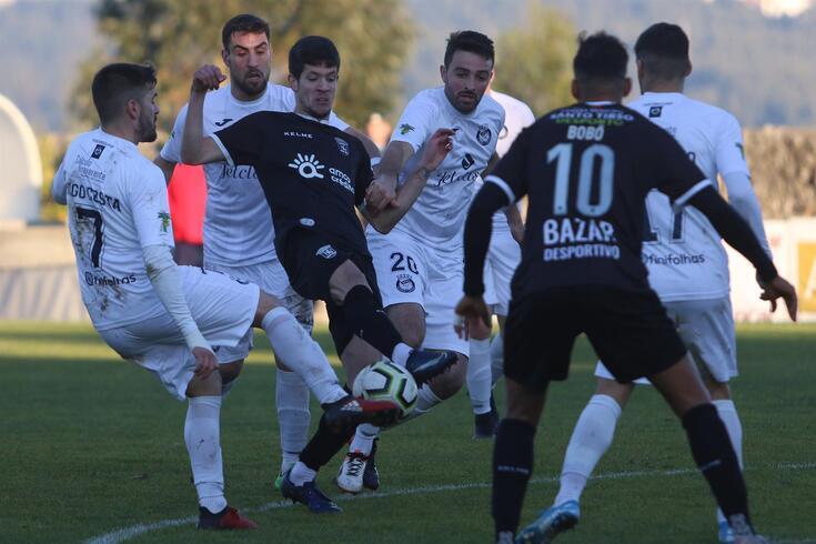 Paredes, 05/01/2020 - O Aliados Futebol Clube Lordelo recebeu esta tarde o Futebol Clube Tirsense no