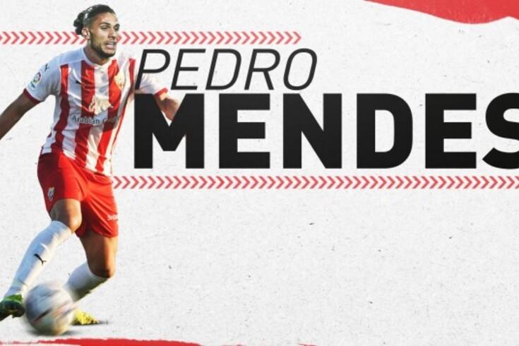 Pedro Mendes oficializado no Almería