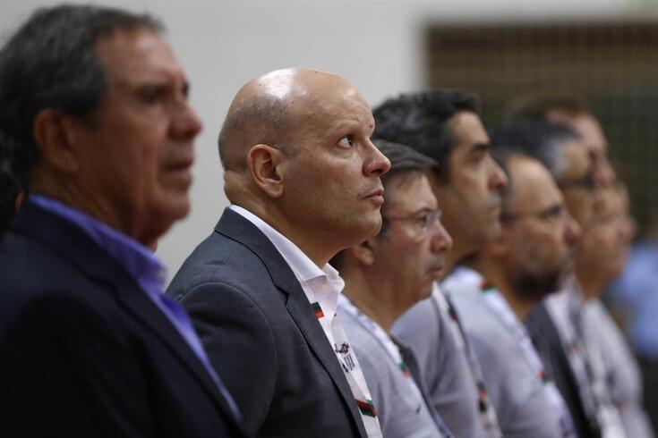 Jorge Braz, treinador de futsal da Seleção portuguesa.