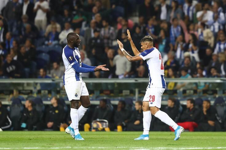 Porto, 19/09/2019 - O Fc Porto recebeu esta tarde o Young Boys, no estádio do Dragão, em jogo da 1ª jornada
