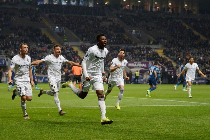 Tapsoba marcou o golo do Vitória