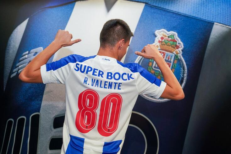 Rodrigo Valente já sonha com o plantel principal do FC Porto