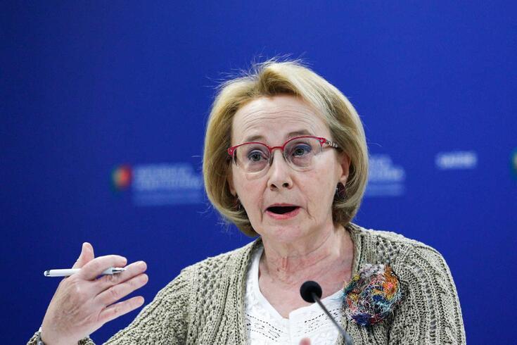 A diretora geral de Saúde, Graça Freitas