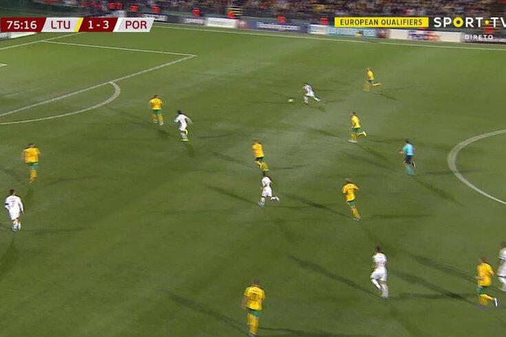 Lituânia-Portugal: mais um golo de Ronaldo em Vilnius