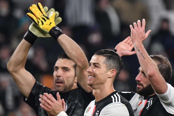 Buffon elogia Cristiano Ronaldo