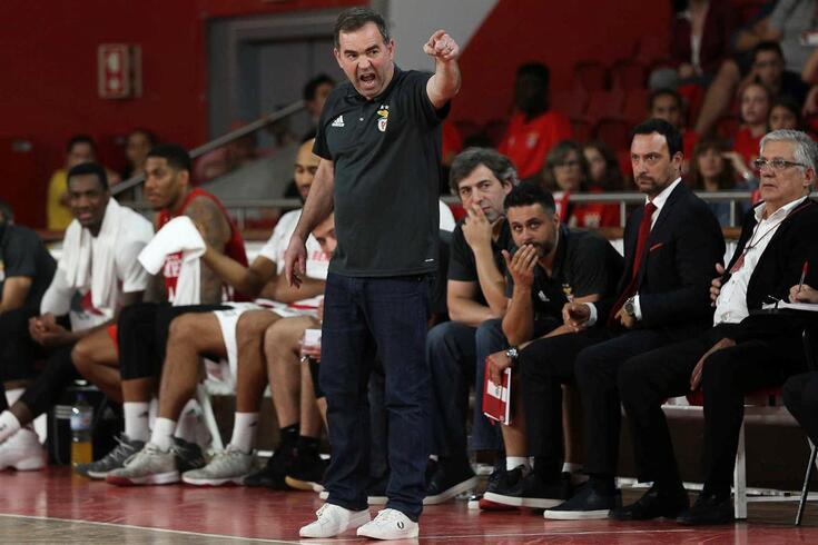 José Ricardo orientou a equipa de basquetebol do Benfica