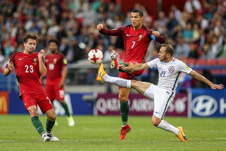 Ronaldo e Adrien partilham o balneário da Seleção