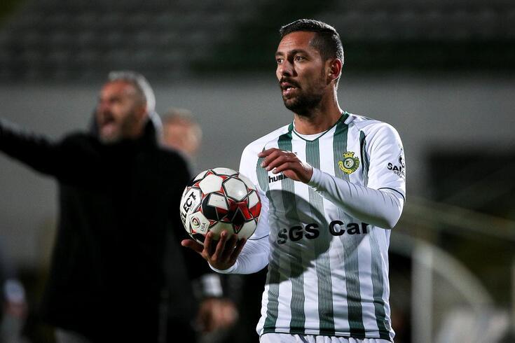 Seis meses depois, Nuno Pinto voltou a jogar na I Liga