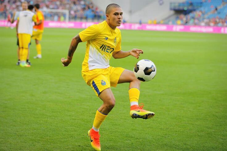 Quintero quando estava no FC Porto