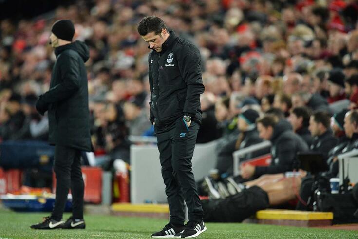 Marco Silva está em maus lençóis no Everton.
