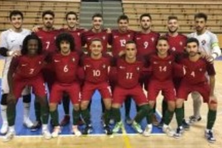 Futsal: Sub-21 venceram na República Checa