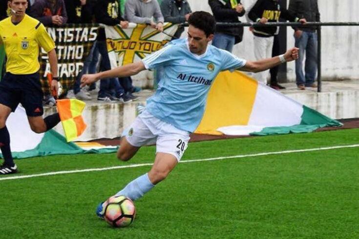 Médio do Montijo seguido por clubes da I Liga
