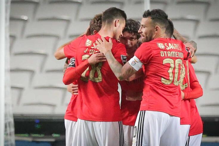 Lisboa, 26/10/2020 - O Sport Lisboa e Benfica recebeu esta noite no Estádio da Luz em Lisboa, o Belenenses