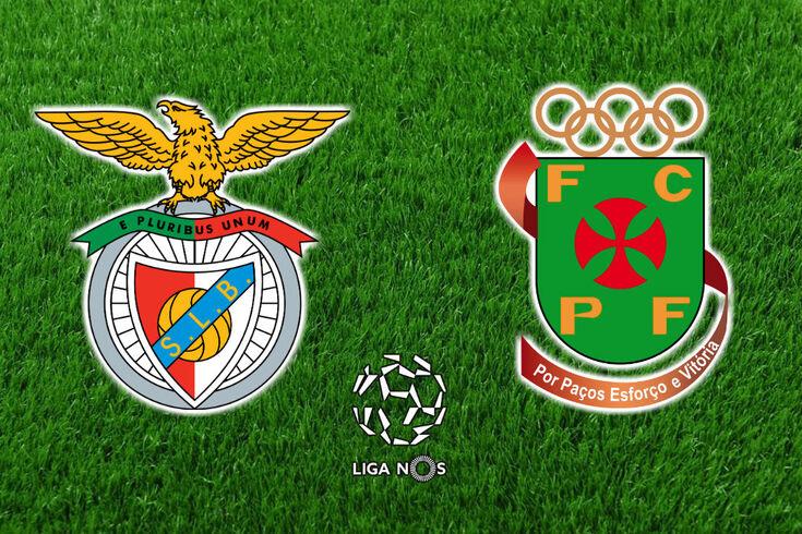 DIRETO   Benfica-Paços Ferreira