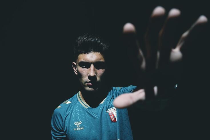 Bernardo Caldeira é uma promessa do Braga