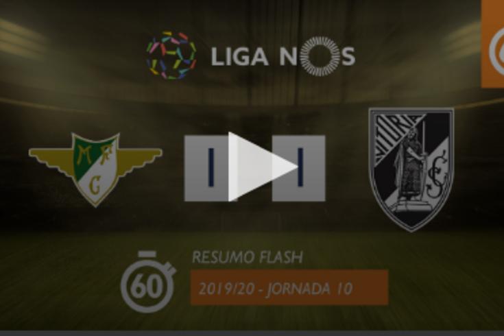 O resumo do Moreirense-V. Guimarães em apenas 60 segundos