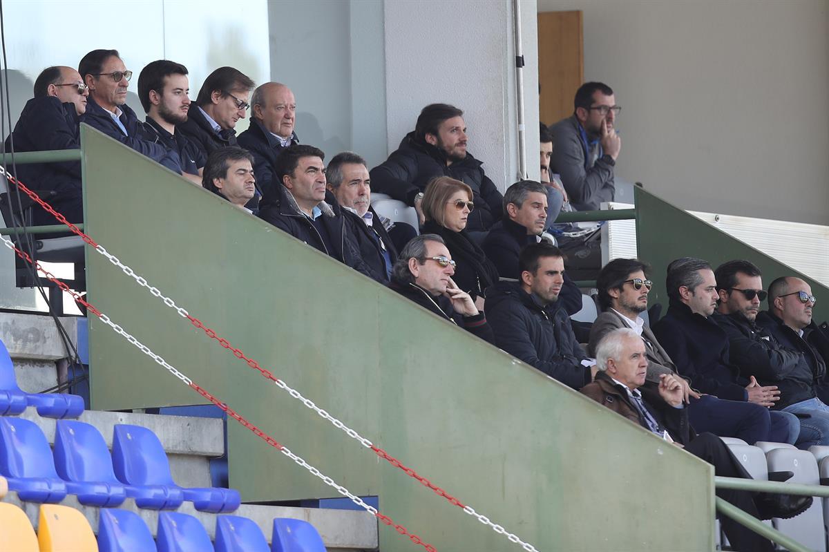 Pinto da Costa e Sérgio viram o FC Porto B alcançar o melhor resultado da época