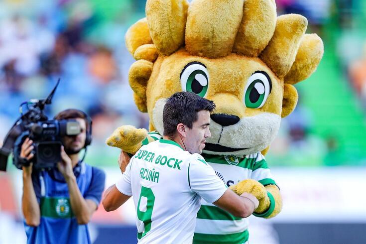 Acuña tem 100 jogos como titular do Sporting, sete golos e 21 assistências