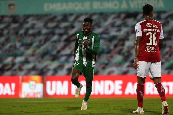 Gelson Dala é um dos jogadores a atuar em Portugal convocados para a seleção de Angola
