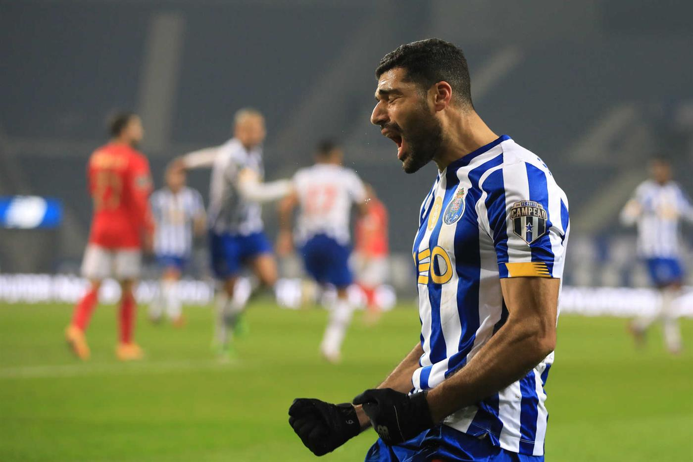 Taremi destaca-se no FC Porto