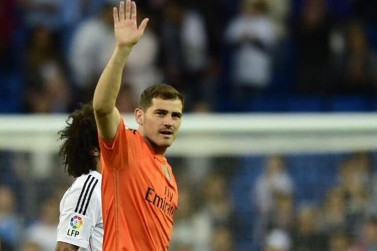 Casillas, aqui com a camisola do Real Madrid