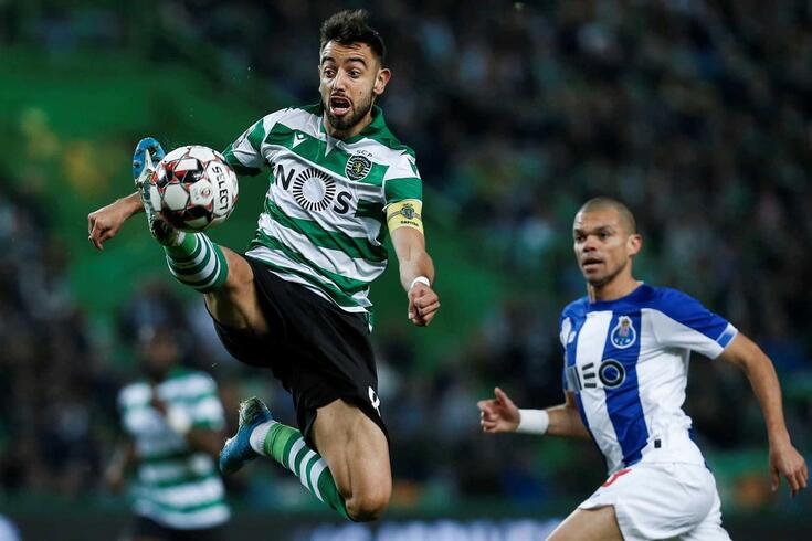 Bruno Fernandes, médio e capitão do Sporting
