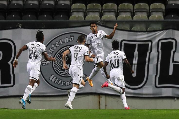 V. Guimarães venceu por 1-0 no Bessa