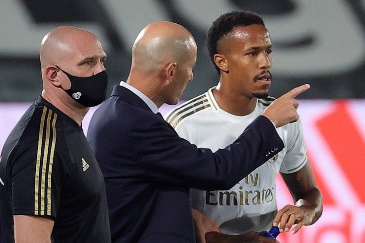 Éder Militão sagrou-se campeão espanhol pelo Real Madrid