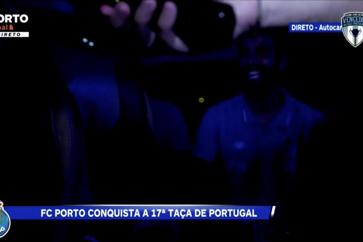 FC Porto partilha nas redes sociais viagem de regresso ao Dragão