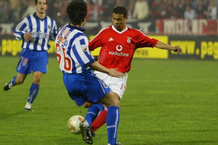 Geovanni num Benfica-FC Porto