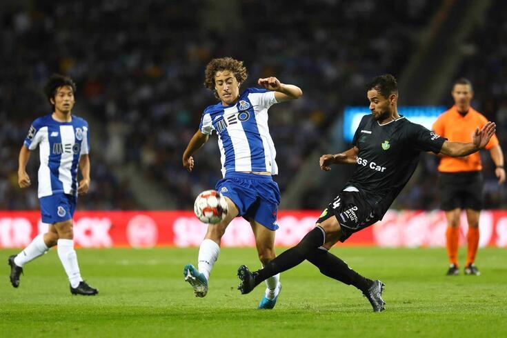 Fábio Silva entrou frente ao Vitória de Setúbal