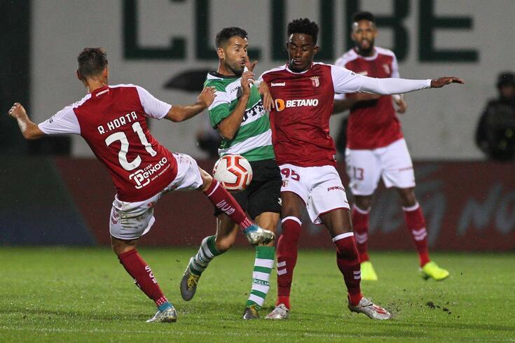 Caju já se despediu do Braga e regressa ao Brasil por empréstimo