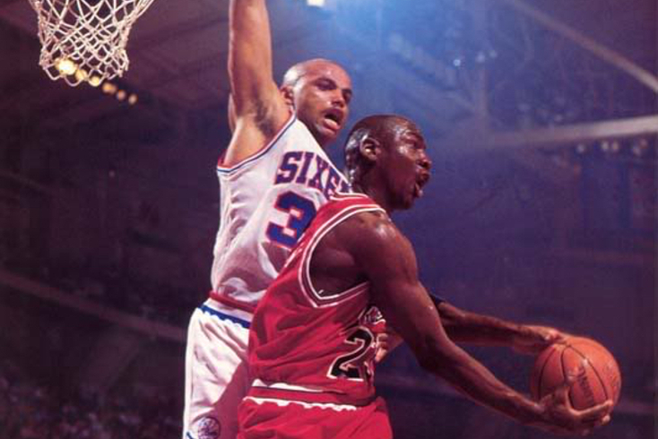 Charles Barkley e Michael Jordan