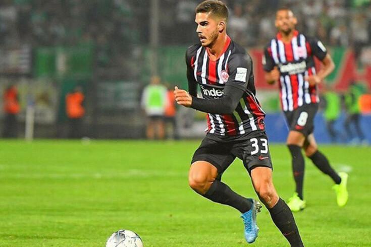 André Silva reforçou o Eintracht Frankfurt